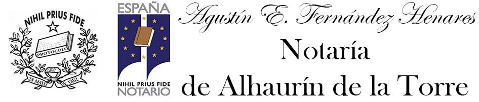Notaría Alharín de la Torre